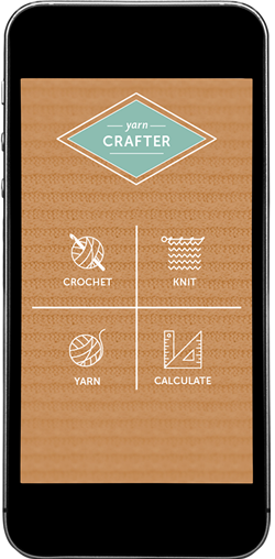 Yarn Crafter home screen