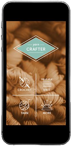 Yarn Crafter home screen